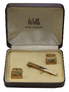 1950's Mens Accessories - Cufflink Set