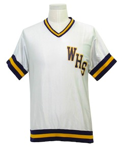 1980's Mens Basketball Jersey Shirt