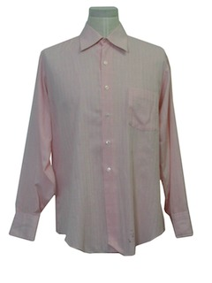 1960's Mens Solid Shirt