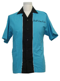 1990's Mens Bowling Shirt