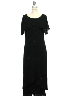 1990's Womens Maxi Cocktail Dress