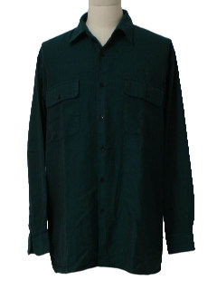 1980's Mens Classic 50s Style Shirt