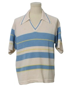 1970's Mens Knit Shirt