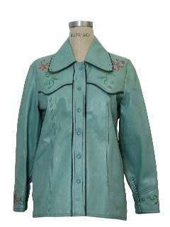 1960's Womens Vinyl Jacket