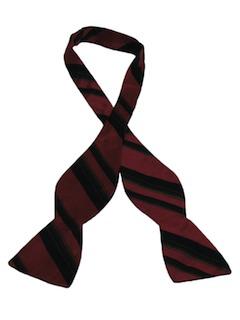 1960's Mens Tuxedo Bow Tie Necktie