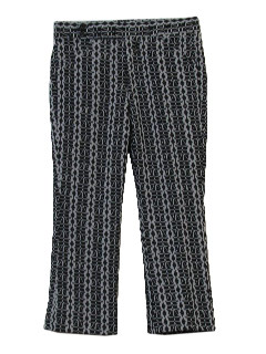 1960's Mens Flared Leisure Pants