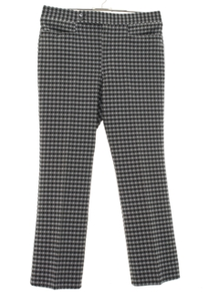 1970's Mens Mod Leisure Pants