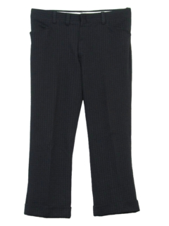 1970's Mens Pinstriped Leisure Pants