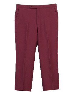 1970's Mens Disco Slacks Pants