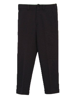 1970's Mens Flat Front Disco Pants