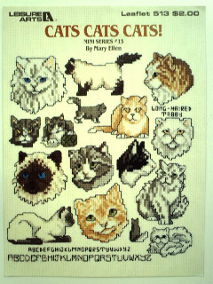 1980's Cross Stitching Leaflet Book