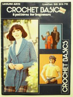 1970's Crochet Book