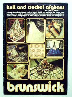 1970's Knitting and Crochet Pattern Book
