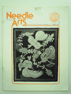 1970's Needlepoint Embroidery Pattern Book
