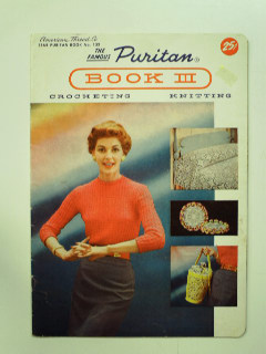 1950's Knitting and Crochet Book