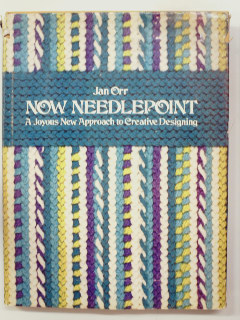 1970's Needlepoint Book