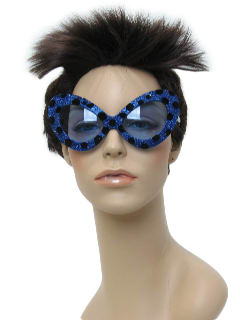 1960's Womens Accessories - Mod Cat Eye Sunglasses