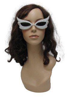 1990's Womens Accessories - Christmas Party Masquerede Sunglasses
