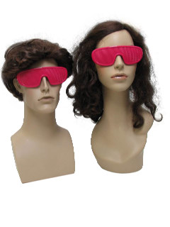 1980's Unisex Accessories - Totally 80s Style New Wave Mesh Sunglasses