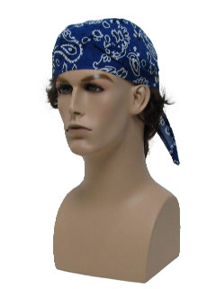 1990's Mens Accessories - Bandana Biker Style Headband