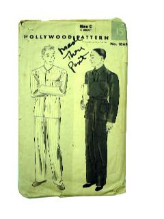 1930's Mens Pattern