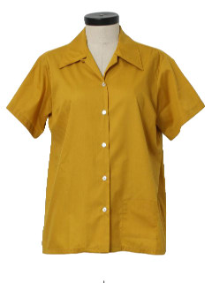 1970's Womens Bowling Shirt