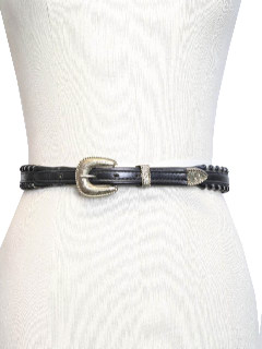 1980's Womens Accessories - Western Belt