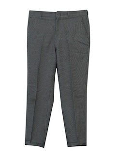 1950's Mens Mod Slacks Pants