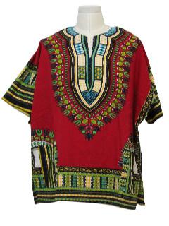 1990's Unisex Dashiki Shirt