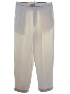 1980's Mens Totally 80s Linen Golf Pants