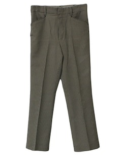 1980's Mens Mod Pants