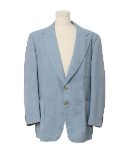1970's Mens Blazer Style Sport Coat Jacket