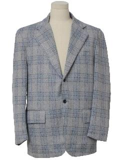 1970's Mens Mod Blazer Style Sport Coat Jacket
