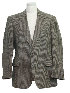 1970's Mens Tweed Blazer Jacket