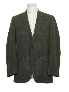 1960's Mens Wool Mod Blazer Jacket