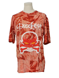 1990's Mens Tie Dye Band T-Shirt