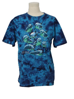 1990's Mens Tie Dye Animal T-Shirt