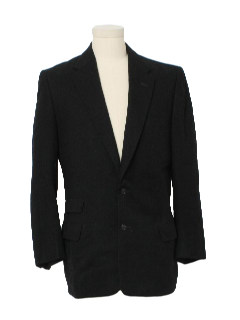 1950's Mens Wool Blazer Jacket