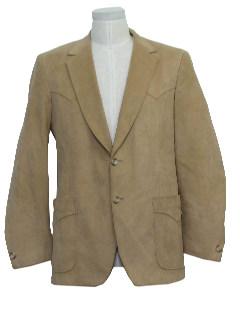 1970's Mens Western Blazer Jacket