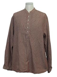 1990's Mens Pioneer Western Shirt