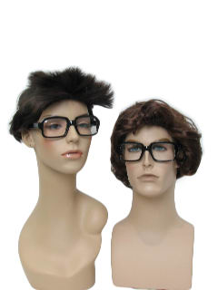 1970's Unisex Accessories - Square Rimmed Charles Nelson Riley Style Glasses
