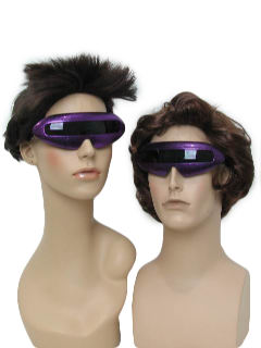 1980's Unisex Accessories - Totally 80s Style Devo Punk Look Sunglasses