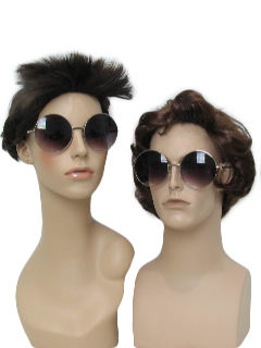 1970's Unisex Accessories - Elton John or Janis Joplin Style Glasses