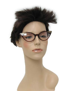 1940's Womens Accessories - Cat Eye Glasses