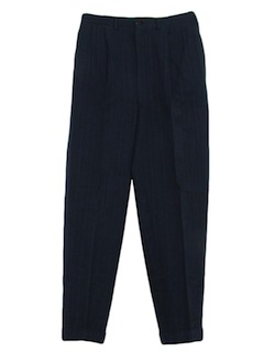 1940's Mens Wool Slacks Pants