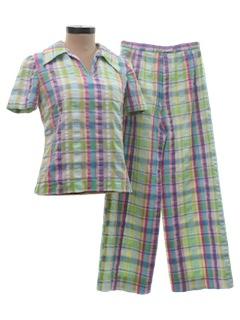 1960's Womens Pant Suit