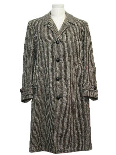 1950's Mens Overcoat Jacket