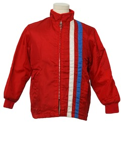 1970's Mens or Boys Racing Style Jacket