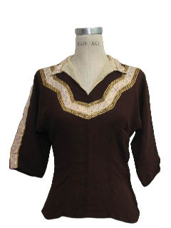 1950's Womens Fab Fifties Western Shirt