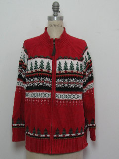 1980's Womens Classic Style Christmas Sweater